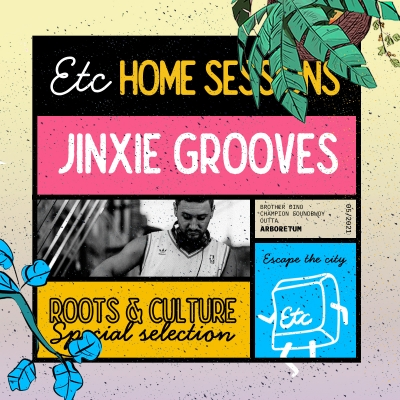 Jinxie Grooves na Escape the City Home sessionu