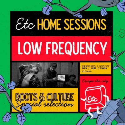 Low Frequency na Escape the City Home sessionu